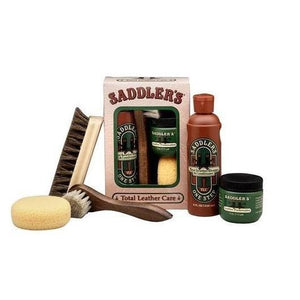 Saddler's Total Leather Care Gift Box Shoe & Leather Care Saddler's