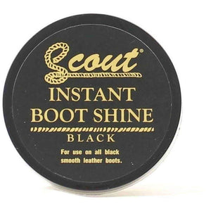 Scout Instant Boot Shine Shoe & Leather Care Scout Black