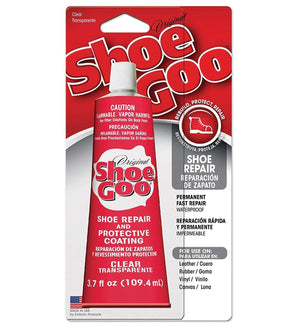 Shoe Goo Original Repair Contact Adhesive 3.7 oz - Clear Craft & Repair Eclectic Products