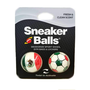 Sneaker Balls World Cup Special Edition Shoe, Gym, Sport Freshener Deodorizer Foot Care Sneaker Balls Mexico