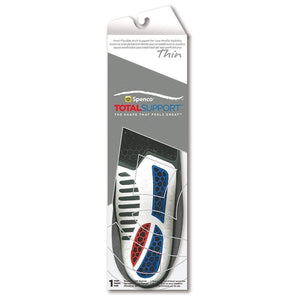 Spenco Total Support Thin Semi-Flexible Arch Support for Low-Profile Insoles Foot Care Spenco