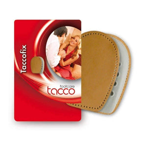 TACCO 602 TaccoFix Shoe Heel Support Cushions Leather RelaxFlex Inserts Foot Care Tacco