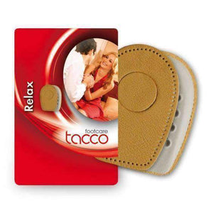 TACCO 626 Relax/Spur Heel Pad Cushion/Support w/Removable Center Leather Inserts Foot Care Tacco