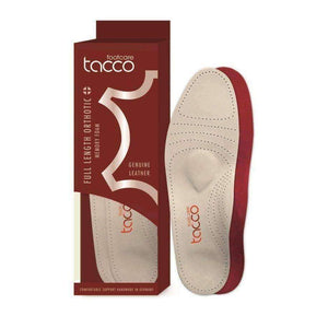 Tacco Plus 794 Women's Full Length Orthotic Luxury Leather Foot Support Foot Care Tacco US 10