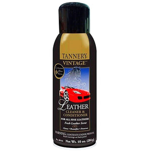 Tannery Vintage Fine Leather Cleaner & Conditioner w/Aloe Vera 10 oz Shoe & Leather Care Tannery