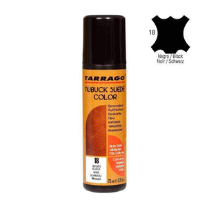TARRAGO Nubuck Suede Color Liquid Restore w/Sponge Applicator 2.4 oz Paint & Dye Tarrago Black