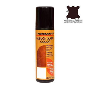 TARRAGO Nubuck Suede Color Liquid Restore w/Sponge Applicator 2.4 oz Paint & Dye Tarrago Dark Brown