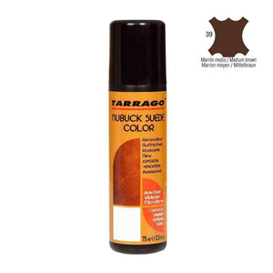 TARRAGO Nubuck Suede Color Liquid Restore w/Sponge Applicator 2.4 oz Paint & Dye Tarrago Medium Brown
