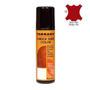 TARRAGO Nubuck Suede Color Liquid Restore w/Sponge Applicator 2.4 oz Paint & Dye Tarrago Red