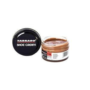 Tarrago Shoe Boot Cream Leather Polish 50 ml Jar (1.76 oz) Shoe & Leather Care Tarrago #110 Whiskey