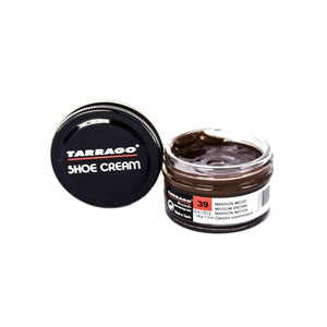 Tarrago Shoe Boot Cream Leather Polish 50 ml Jar (1.76 oz) Shoe & Leather Care Tarrago #39 Medium Brown