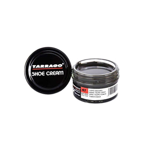 Tarrago Shoe Boot Cream Leather Polish 50 ml Jar (1.76 oz) Shoe & Leather Care Tarrago #47 Dark Taupe Grey