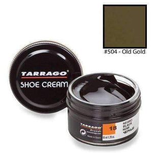 Tarrago Shoe Boot Cream Leather Polish 50 ml Jar (1.76 oz) Shoe & Leather Care Tarrago #504 Old Gold