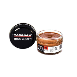 Tarrago Shoe Boot Cream Leather Polish 50 ml Jar (1.76 oz) Shoe & Leather Care Tarrago #9 Amber Brown