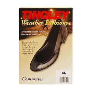 Tingley #1000 Commuter Weather Fashions Rubber Waterproof Overshoes 1 Pair Apparel Accessories Tingley Small