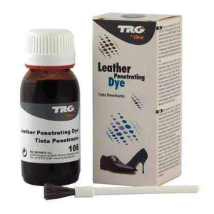 TRG Penetrating Leather Dye 50ml (1.7oz) Kit w/Brush Paint & Dye TRG #106 Dark Brown