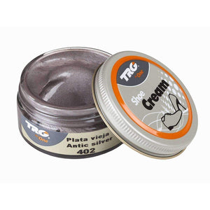 TRG the One Metallic Shoe Cream - 1.7 Ounces Shoe & Leather Care TRG Artic Silver