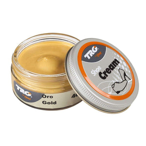 TRG the One Metallic Shoe Cream - 1.7 Ounces Shoe & Leather Care TRG Gold