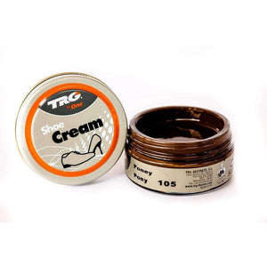 TRG the One Shoe Boot Cream Leather Polish 50 ml Jar (1.76 oz) Shoe & Leather Care TRG #105 Pony