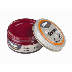 TRG the One Shoe Boot Cream Leather Polish 50 ml Jar (1.76 oz) Shoe & Leather Care TRG #112 Red