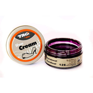TRG the One Shoe Boot Cream Leather Polish 50 ml Jar (1.76 oz) Shoe & Leather Care TRG #126 Cardinal