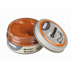 TRG the One Shoe Boot Cream Leather Polish 50 ml Jar (1.76 oz) Shoe & Leather Care TRG #127 Mango