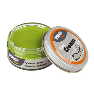 TRG the One Shoe Boot Cream Leather Polish 50 ml Jar (1.76 oz) Shoe & Leather Care TRG #132 Green Island