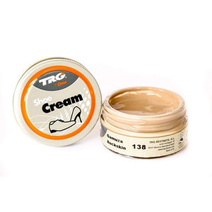 TRG the One Shoe Boot Cream Leather Polish 50 ml Jar (1.76 oz) Shoe & Leather Care TRG #138 Buckskin