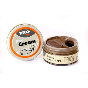 TRG the One Shoe Boot Cream Leather Polish 50 ml Jar (1.76 oz) Shoe & Leather Care TRG #141 Otter