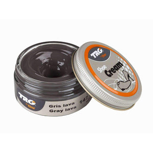 TRG the One Shoe Boot Cream Leather Polish 50 ml Jar (1.76 oz) Shoe & Leather Care TRG #147 Gray Lava