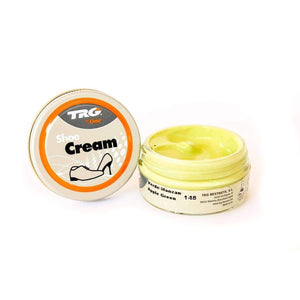 TRG the One Shoe Boot Cream Leather Polish 50 ml Jar (1.76 oz) Shoe & Leather Care TRG #148 Apple Green