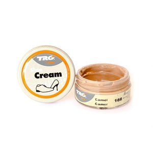 TRG the One Shoe Boot Cream Leather Polish 50 ml Jar (1.76 oz) Shoe & Leather Care TRG #166 Camel