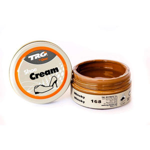 TRG the One Shoe Boot Cream Leather Polish 50 ml Jar (1.76 oz) Shoe & Leather Care TRG #168 Whisky