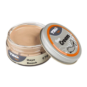 TRG the One Shoe Boot Cream Leather Polish 50 ml Jar (1.76 oz) Shoe & Leather Care TRG #179 Walnut