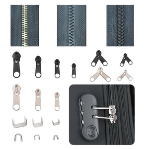Ultimate Zipper Repair & Replacement Kit Toolkit - 194pc Craft & Repair LCS