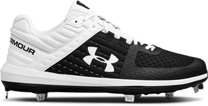 Under Armour Men's Yard Low ST Metal Custom Baseball Cleats Custom Made Under Armour