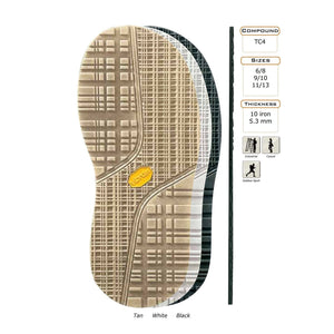 Vibram # 1328 Elvis Orthopedic Rubber Full Sole - 1 Pair Craft & Repair Vibram