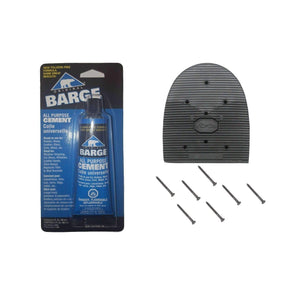 Vibram & Barge Cowboy Heel Repair DIY Kit Craft & Repair Vibram