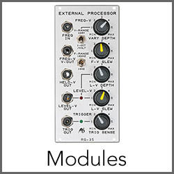 Analogue Systems Modules