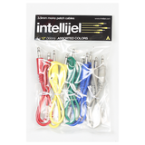 3.5mm Patch Cables – 5 Pack Assorted Colors 12″ (30cm)