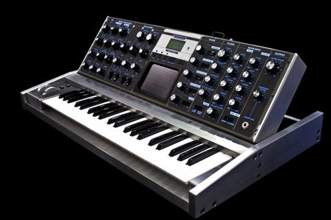 Water Cut Aluminum Minimoog Voyager - Only Unit Made