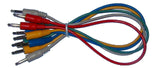 Analogue Systems 3.5mm patchcord 12 inch 5-pack colors