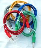 Analogue Systems 3.5mm patchcord 30 inch 5-pack colors