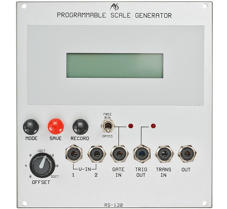 RS-130 Programmable Scale Generator