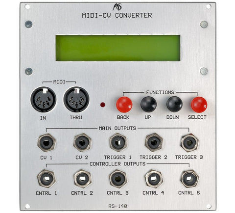 Analogue Systems RS-140 MIDI to CV Converter