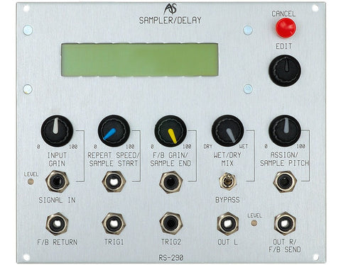 Analogue Systems RS-290 VC Delay Sampler