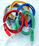 3.5MM PATCHCORD - 6 INCH 5-PACK (COLORS)
