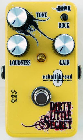 Catalinbread Dirty Little Secret  Yellow BCM Edition