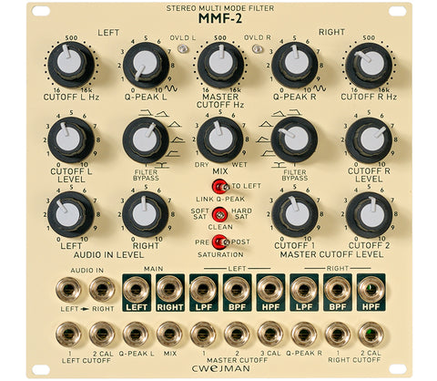 Cwejman Stereo Multi Mode Filter