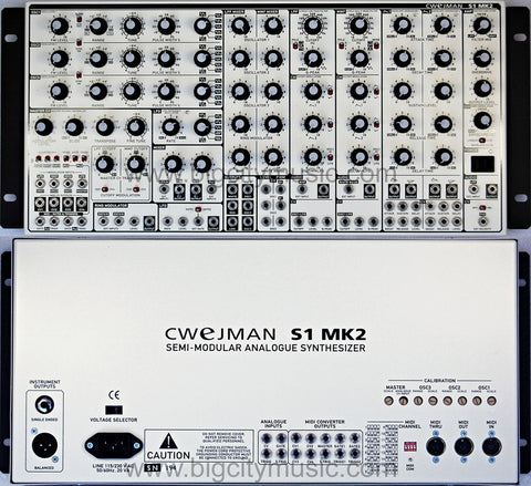 S1 Mk2 Semi-Modular Synth - Brand New old stock -SOLD